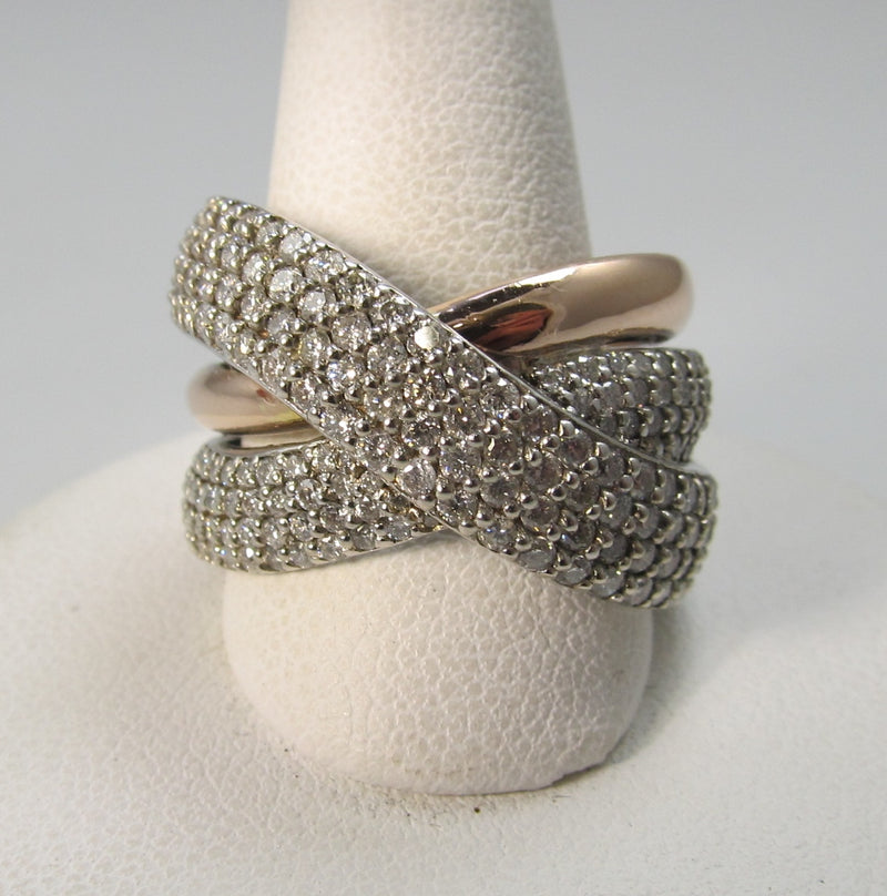 rose gold diamond band, antique jewelry, victorious, cape may