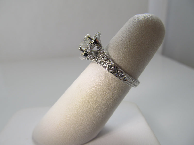 Gabriel & Co 1.10ct diamond ring