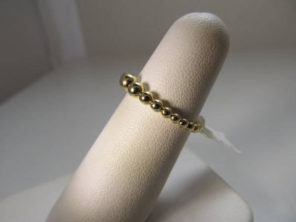 Gabriel & Co bead band ring