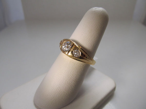 Vintage diamond gypsy ring