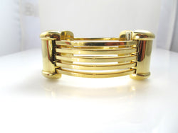Kria 18k yellow gold bangle bracelet, Victorious cape May