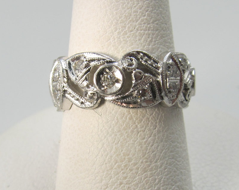 Antique diamond eternity band, Victorious Cape May