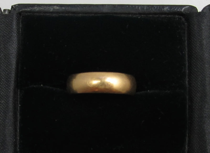 14k Yellow Gold Band Dated Nov 2nd 1837.