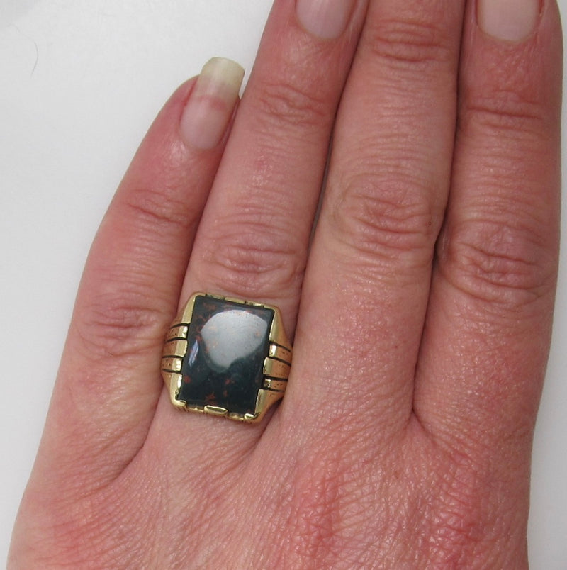 Bloodstone ring dated 1925