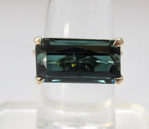 Handmade tourmaline ring