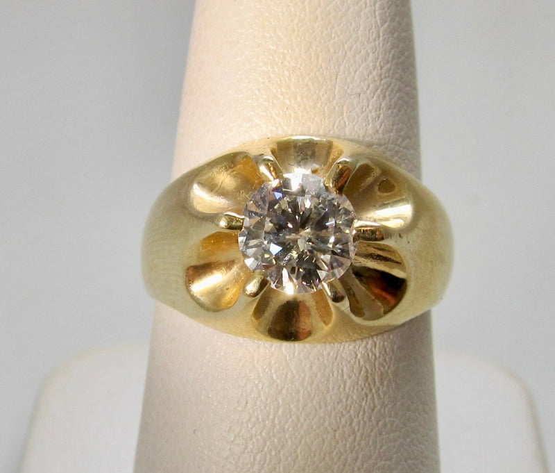 Vintage 1.12ct diamond ring