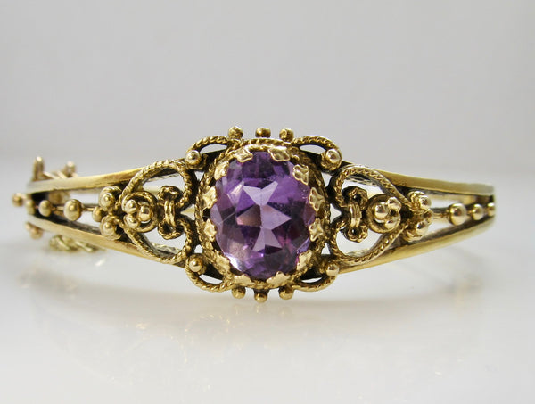 Victorious Cape May, antique jewelry, amethyst bracelet