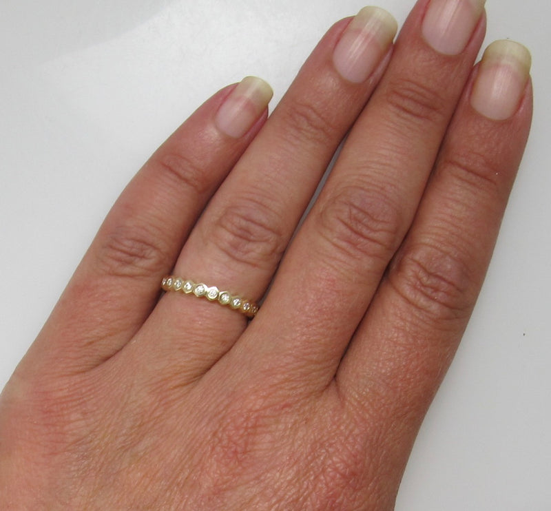 Gabriel & Co diamond eternity band