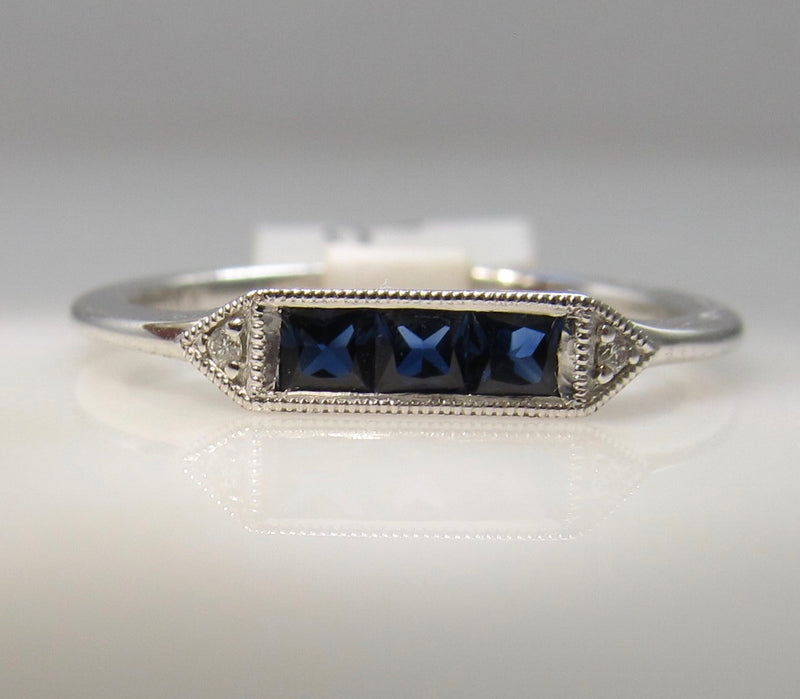 Gabriel & Co best selling sapphire ring