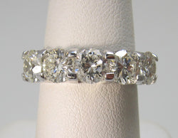 2.84ct 5 stone diamond band