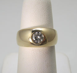 .40ct gypsy set diamond ring