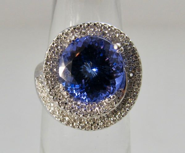victorious cape may, antique estate jewelry, tanzanite ring