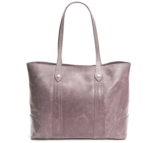 Frye Melissa Shopper in Amethyst