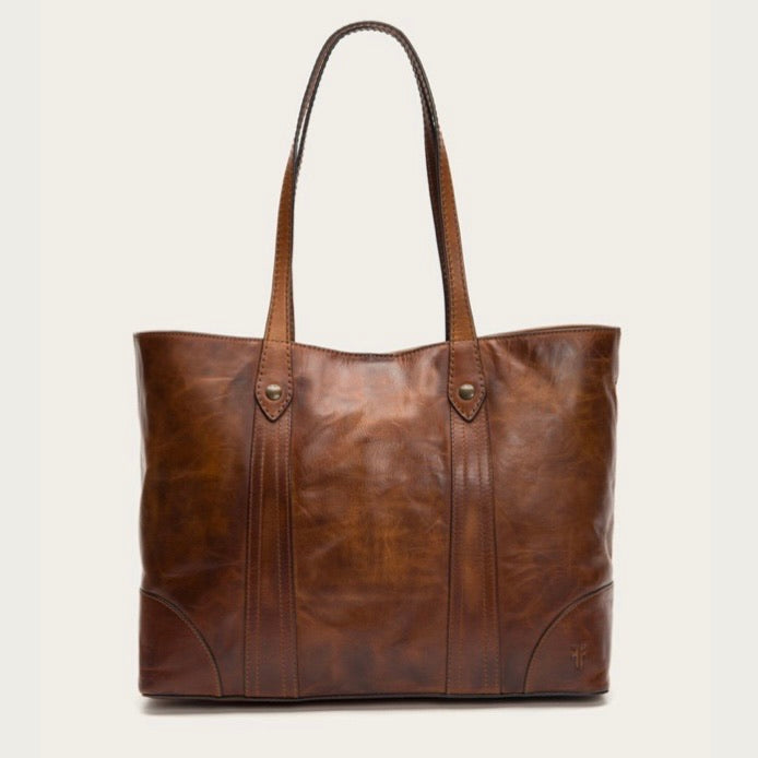 Frye Melissa Shopper in Cognac
