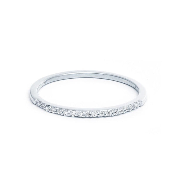 Adina Reyter Pavé White Gold Band