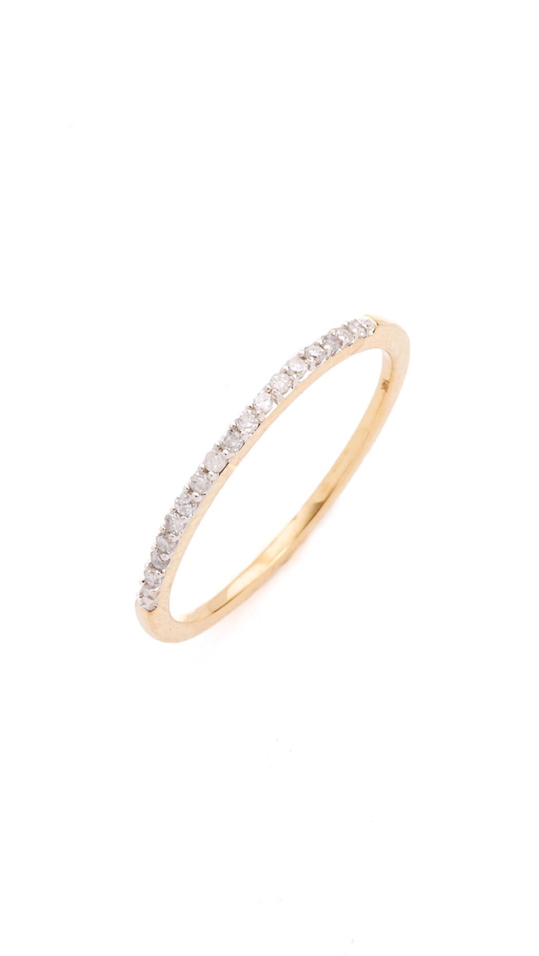 Adina Reyter Pavé Yellow Gold Band