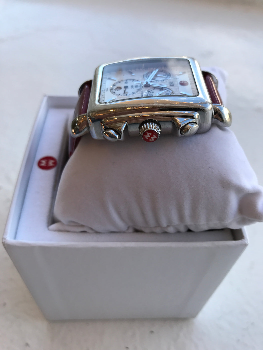 Michele DECO mother of pearl chronograph watch