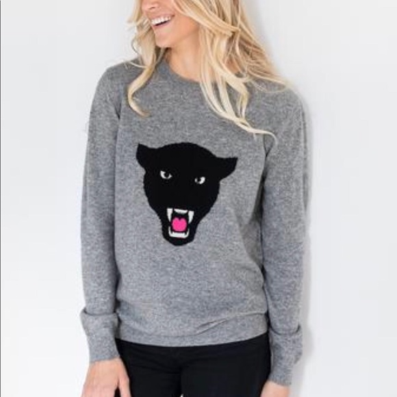 Brodie Cashmere Panther jumper sweater