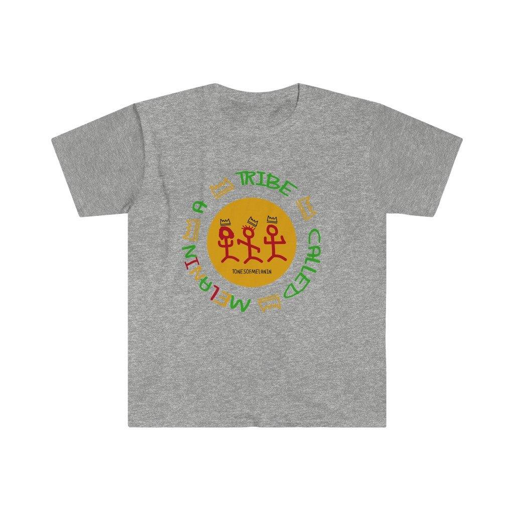 A Tribe Called Melanin Unisex Fitted Short Sleeve Tee