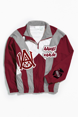 THROWBACK AAMU MADE WINDBREAKER