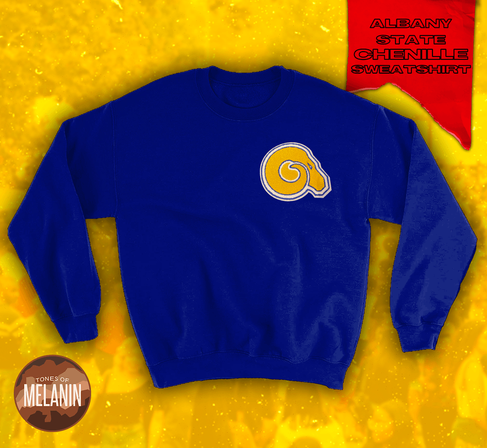 Blue Golden Rams Crewneck