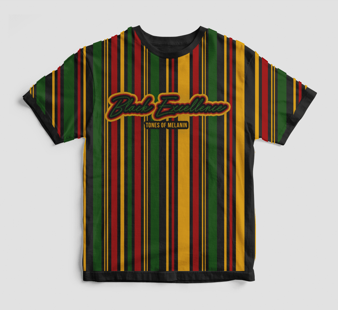 Black Excellence 90s Style Shirt