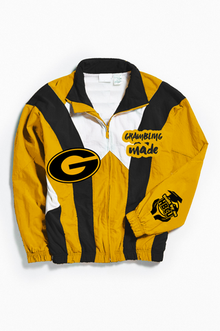 THROWBACK GRAMBLING MADE WINDBREAKER