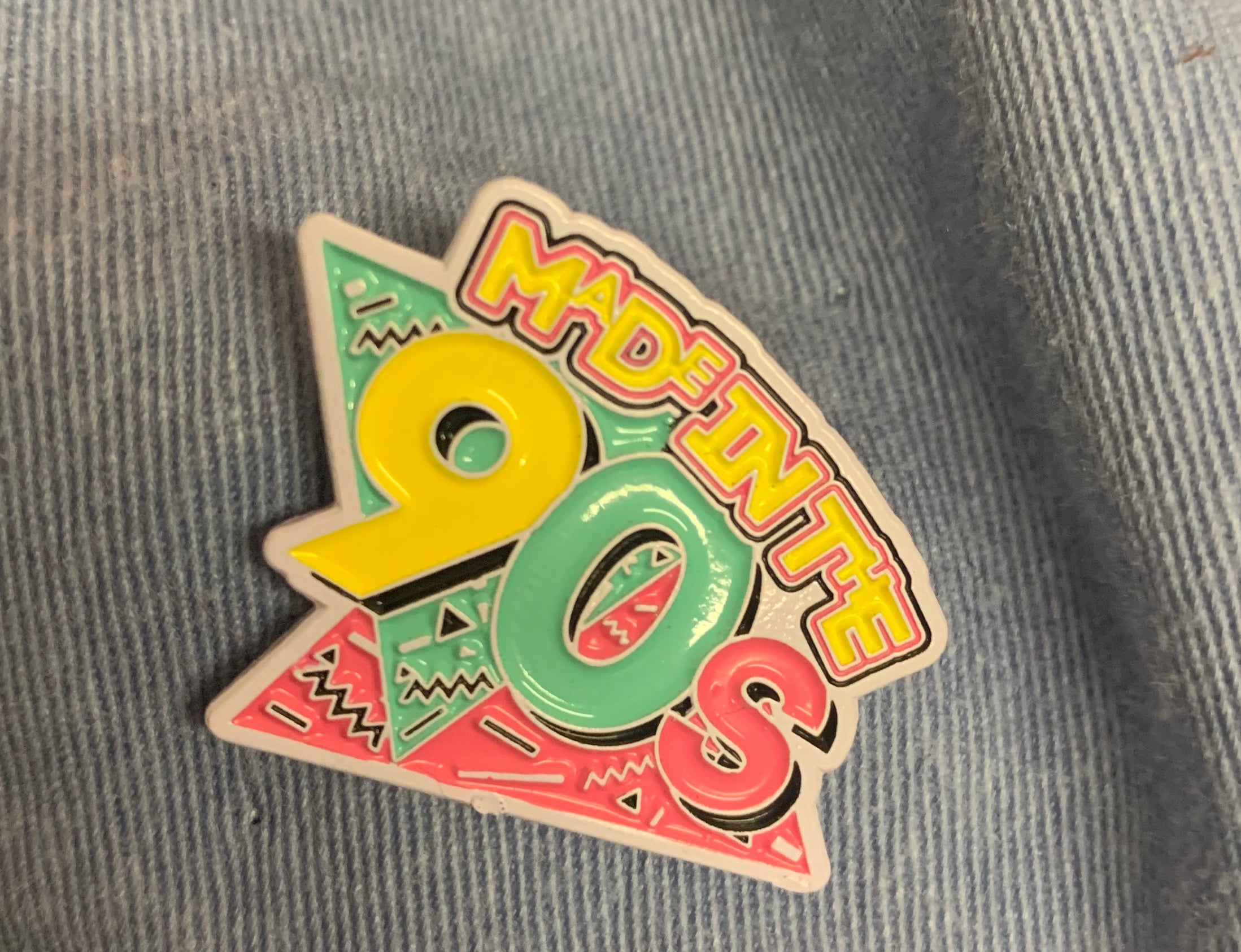Made in the 90s lapel pin