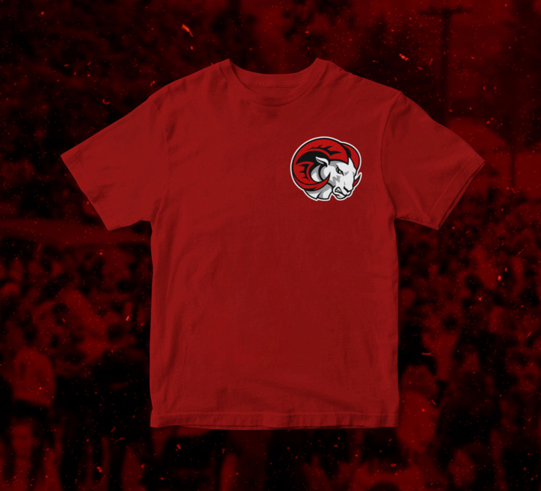 Red WSSU Rams T-Shirt