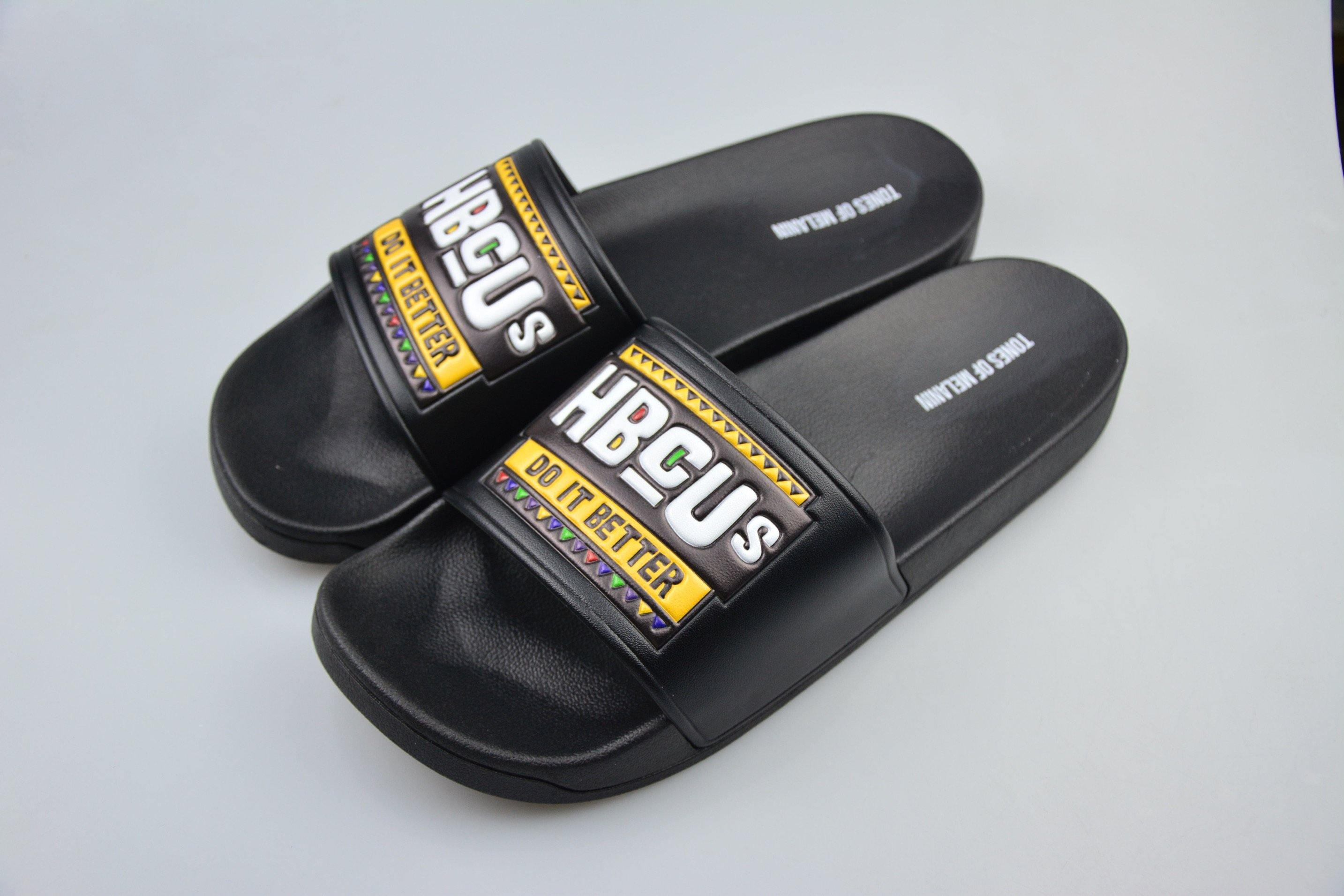 Black HBCUs do it better slides(PREORDER PLEASE ALLOW 4-5 WEEKS FOR SHIPPING)