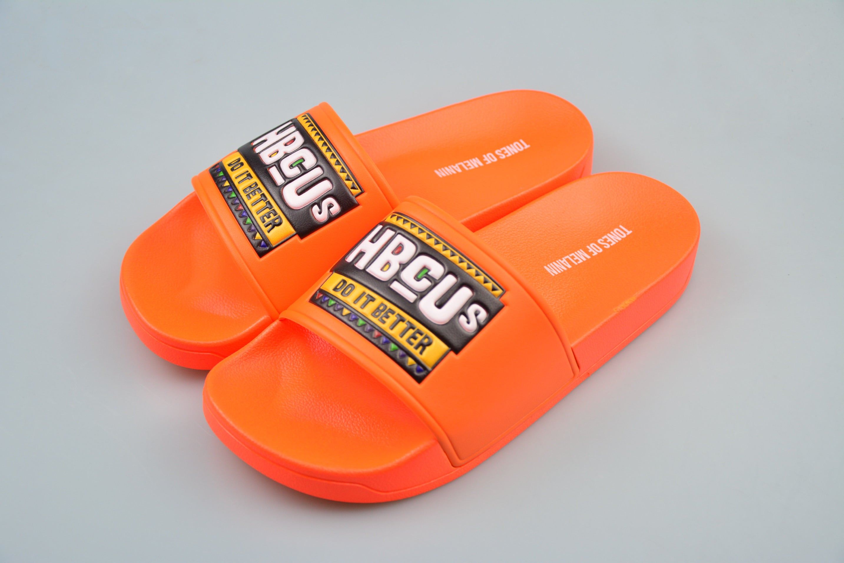 Orange HBCUs do it better slides(PREORDER PLEASE ALLOW 4-5 WEEKS FOR SHIPPING)