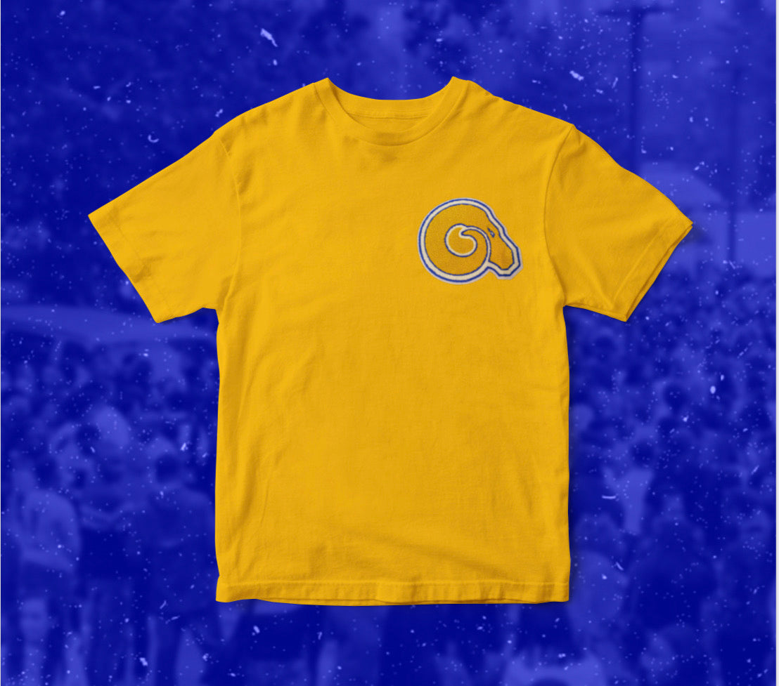 Gold Golden Rams T-Shirt