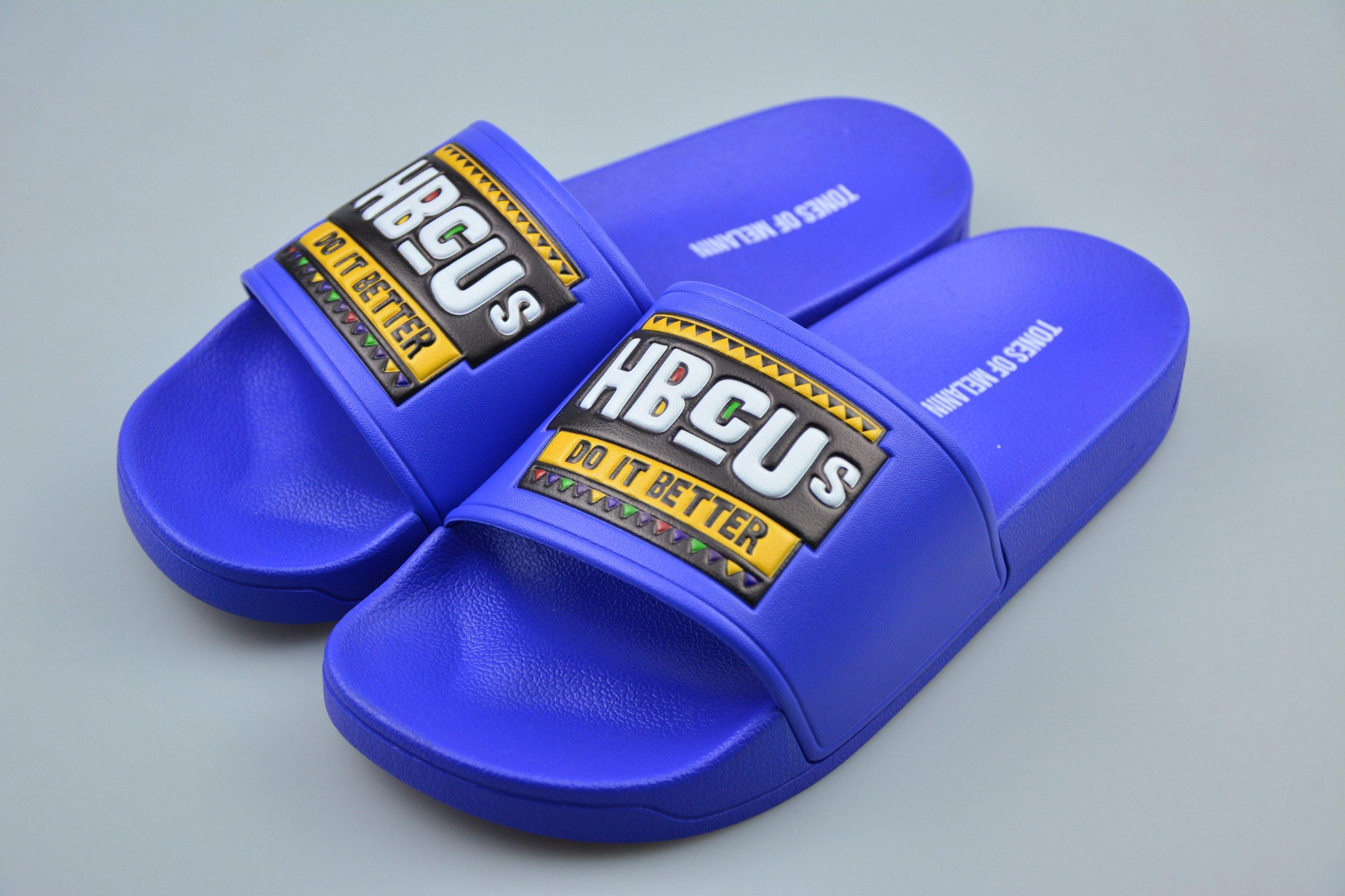 Blue HBCUs do it better slides(PREORDER PLEASE ALLOW 4-5 WEEKS FOR SHIPPING)