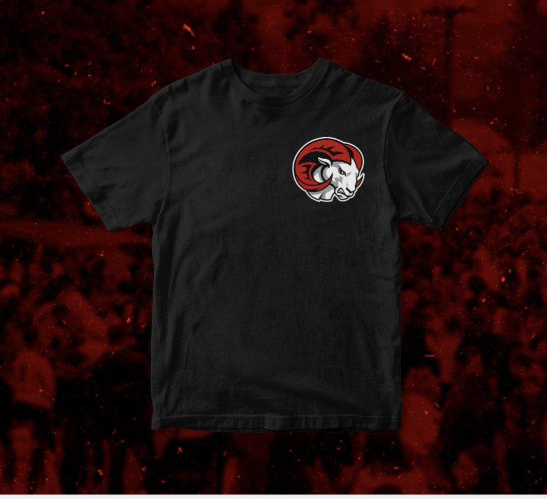 Black WSSU Rams T-Shirt