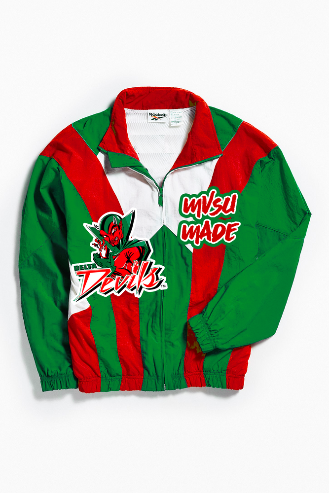 THROWBACK MVSU MADE WINDBREAKER