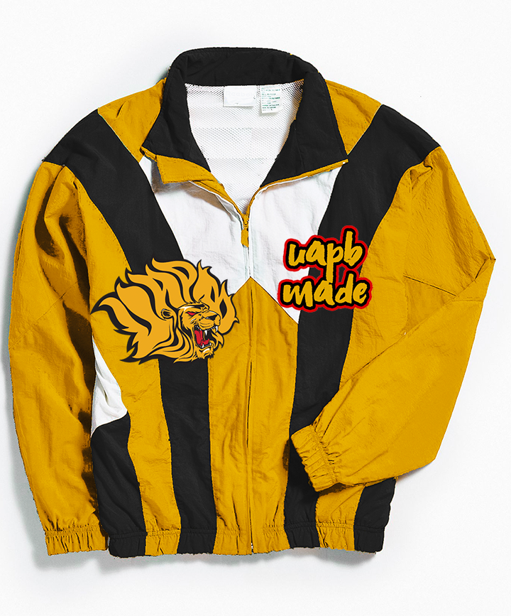 THROWBACK UAPB MADE WINDBREAKER
