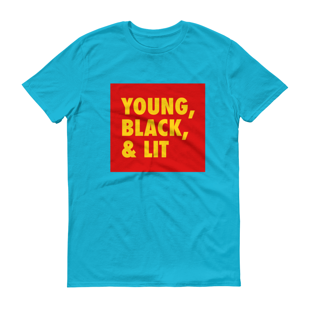 Young, Black, & Lit Short-Sleeve T-Shirt