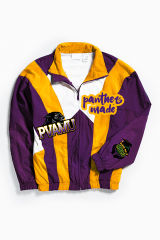 THROWBACK PANTHERS MADE WINDBREAKER
