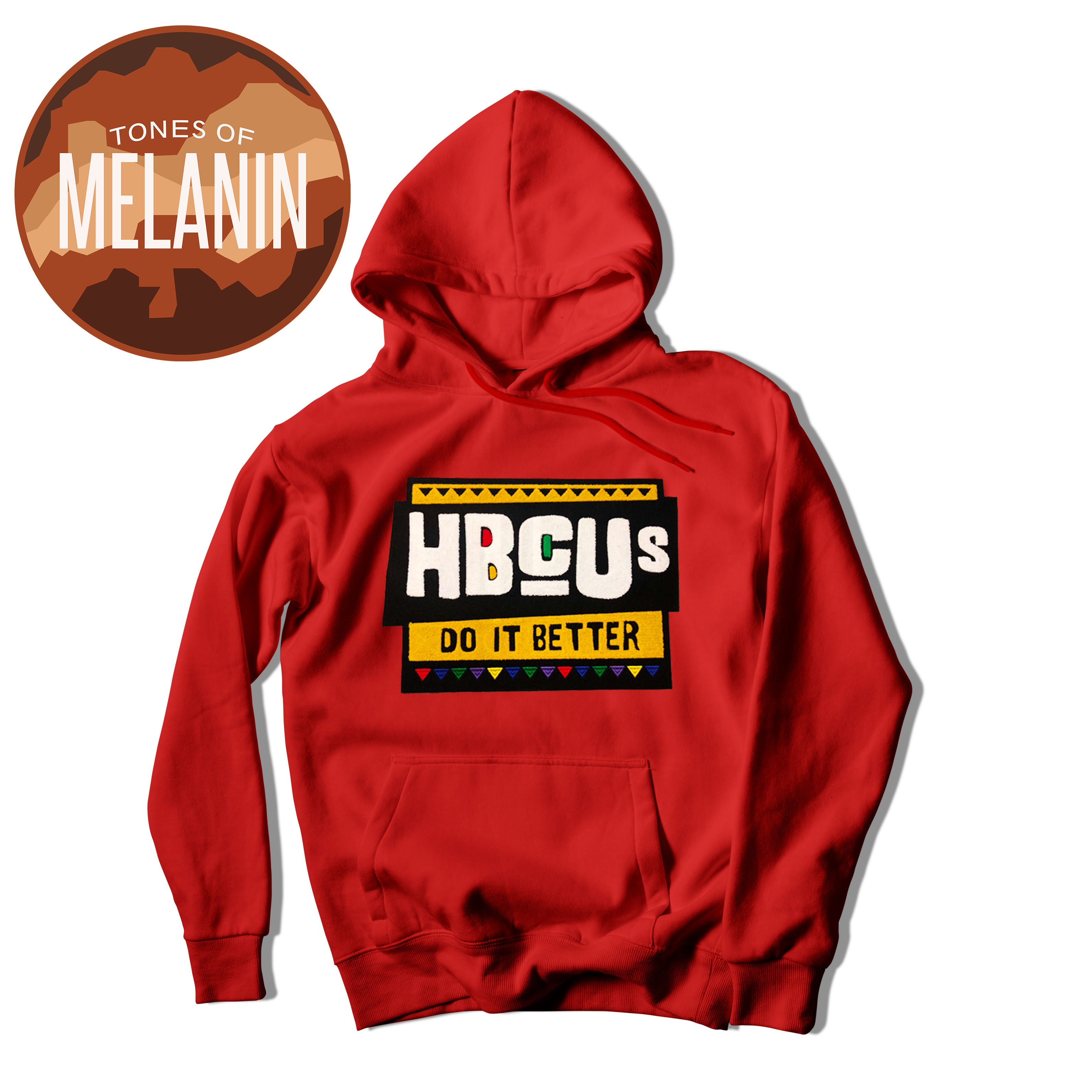 Red HBCUs Do It Better Hoodie