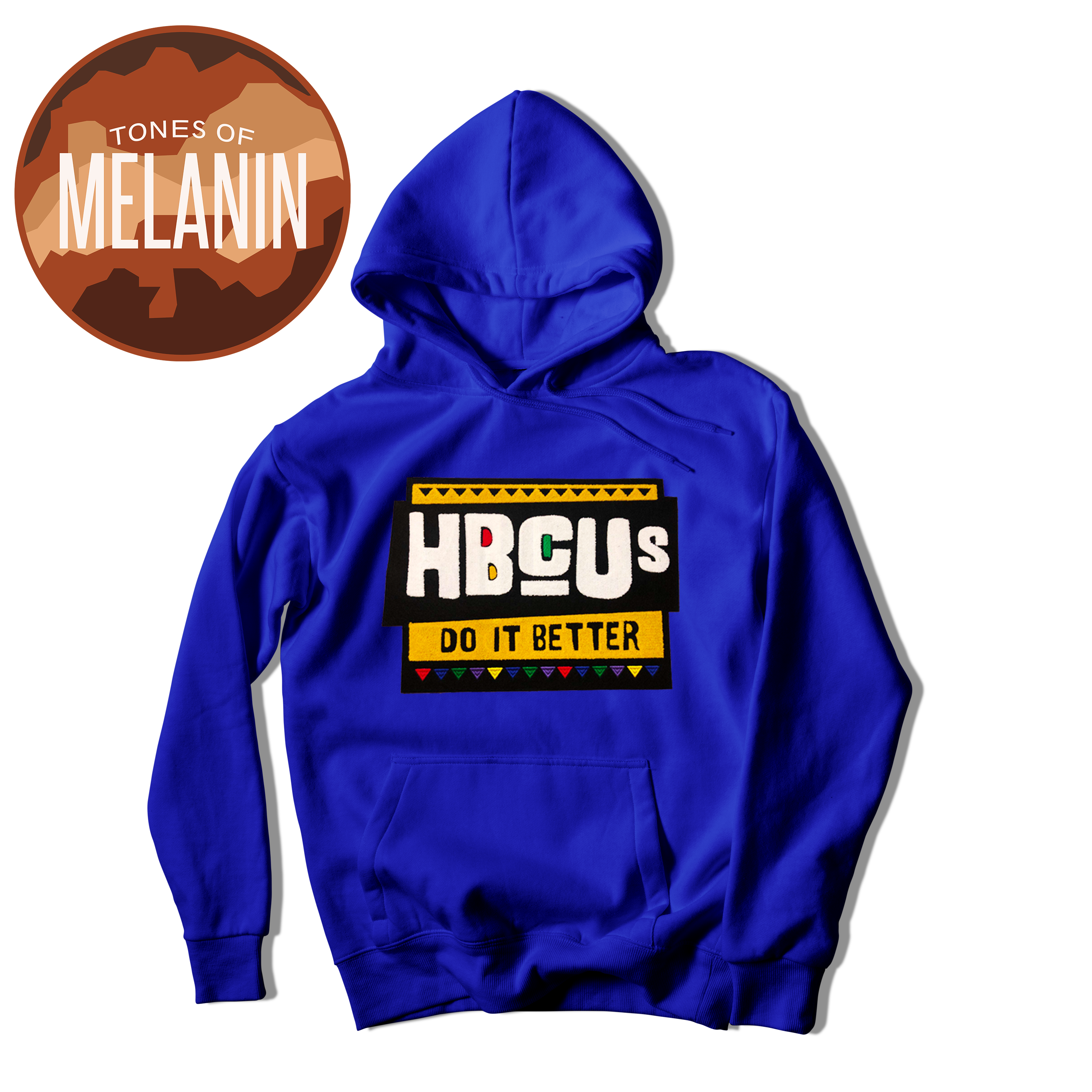 Royal Blue HBCUs Do It Better Hoodie