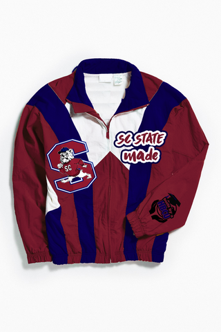 THROWBACK SC STATE MADE WINDBREAKER
