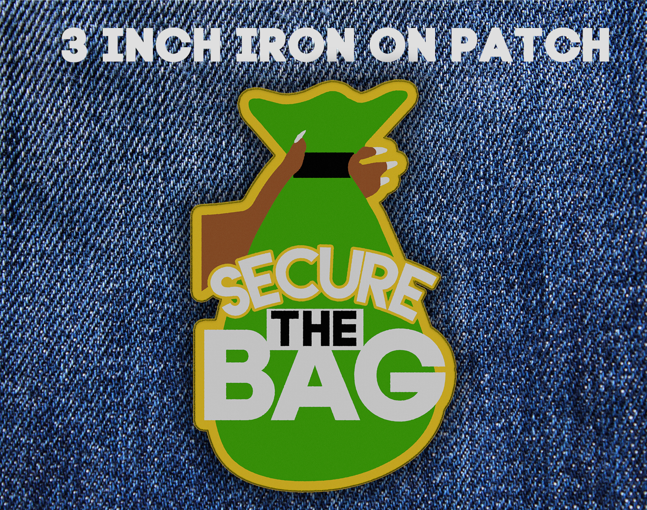 Secure the Bag Iron On Patch