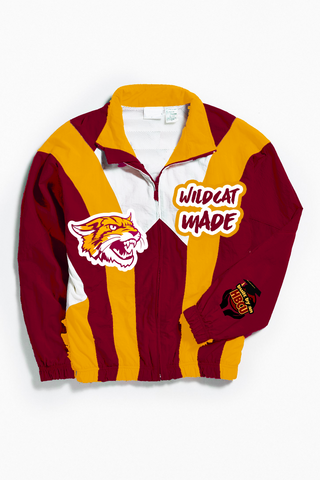 THROWBACK WILDCATS MADE WINDBREAKER