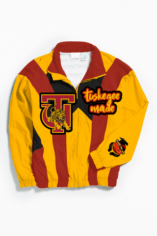 THROWBACK TUSKEGEE MADE WINDBREAKER