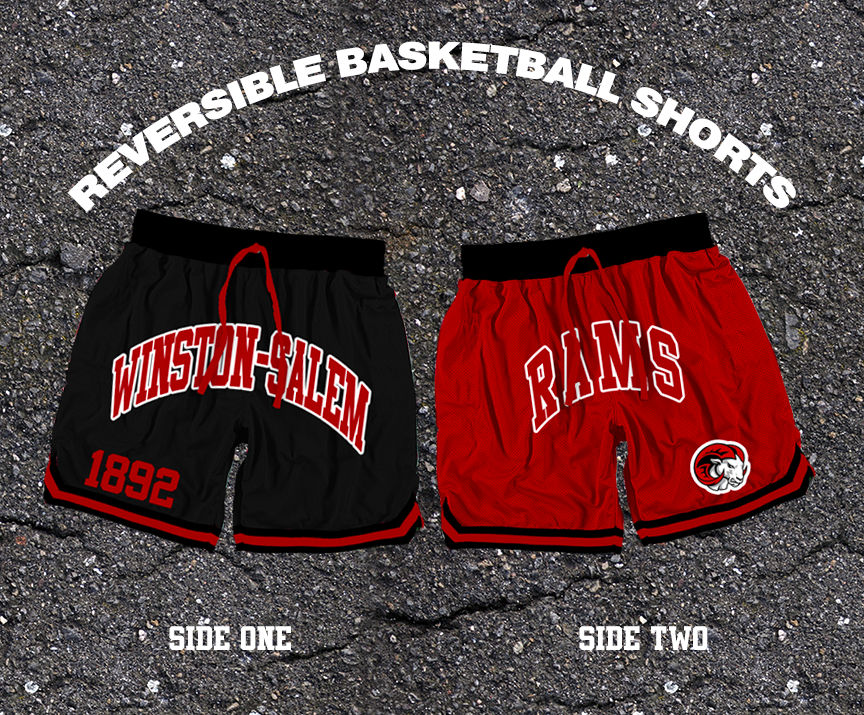 Reversible Winston-Salem Basketball Shorts