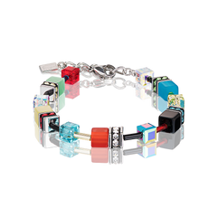 GeoCUBE® Armband Multicolor bouquet fresh
