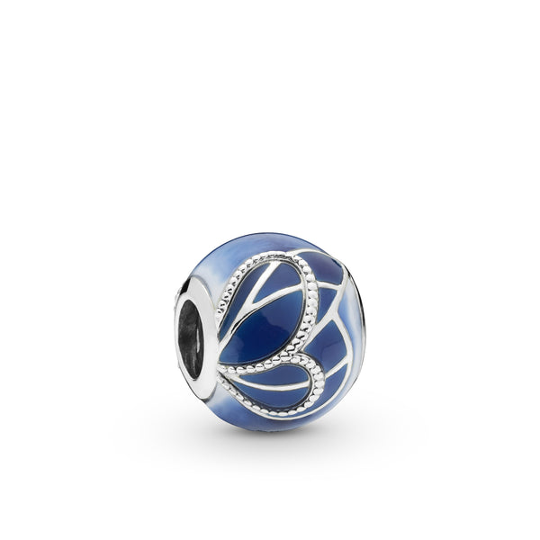 "Pandora - ""Blue Butterfly Wing"" Charm"
