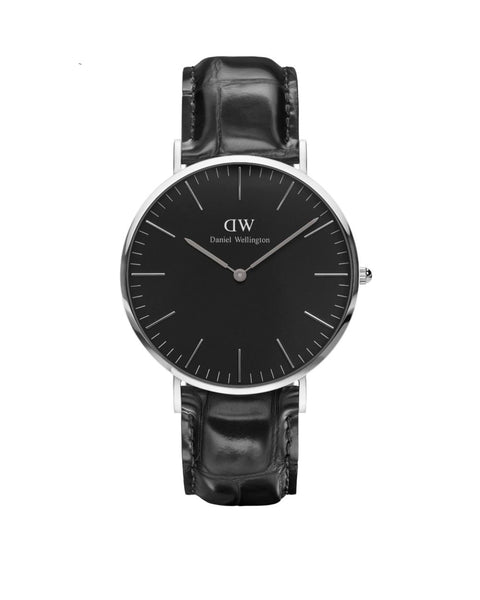 DW - Classic Black Reading | 40mm silber