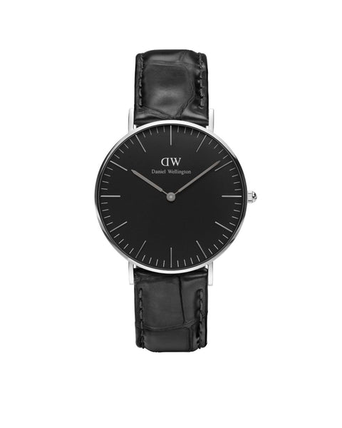DW - Classic Black Reading |  36mm silber