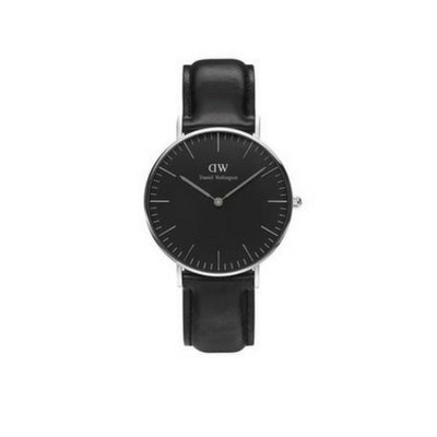 Sheffield Classic Black 36mm Silver
